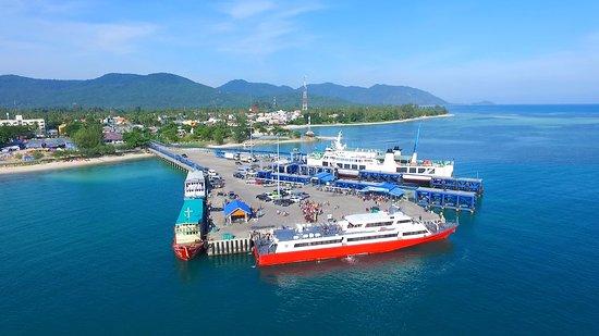 Thong Sala Pier Koh Phangan Thailand